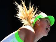 Images: Sharapova, Serena and the noisy pack