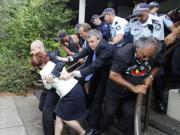 Australian govt, activists blame each other for Gillard incident
