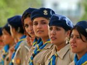 Afghanistan's <b>girl</b> <b>scouts</b> bend social norms with food