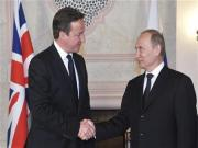 Cameron tackles Putin on Syria in judo diplomacy