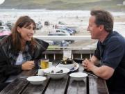 Curse of Cornwall: Camerons return to fav county for holiday