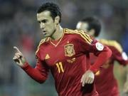 Pedro treble in Spain win, Germany thump <b>Ireland</b>