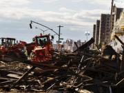 Sandy aftermath: NY grapples with commuters thronging feeble transport system