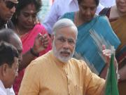 Images: Modi visits Chennai, is hailed 'future of India'