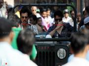 Images: Sonu 'Dawood Ibrahim' Sood shooting for Shootout At Wadala in Worli!