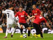 Champions League: Man United survive Madrid onslaught