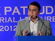 Test cricket separates men from boys: Gavaskar at MAK Pataudi memorial lecture