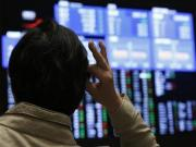 Asian shares capped, sterling remains vulnerable