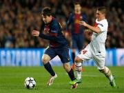 Messi returns to help Barcelona reach Champions League semifinals