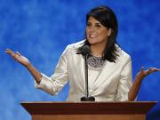 Nikki Haley faces racist attack on her Indian roots