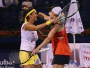 Sania-Bethanie advance to second round in Madrid