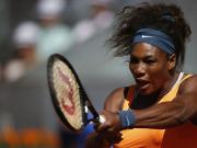 'Boring' Serena sweeps past Errani into Madrid final
