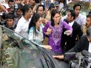 Images: Sanjay Dutt mobbed as he surrenders before TADA court