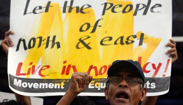 Is India party to Sri Lanka's refusal of power to the Tamils?