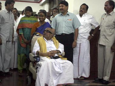 Karunanidhi's family