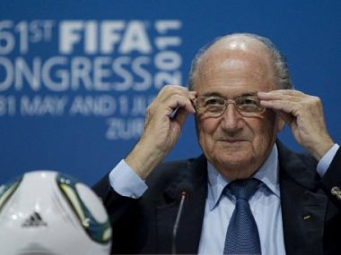 Sepp Blatter has won a controversial election