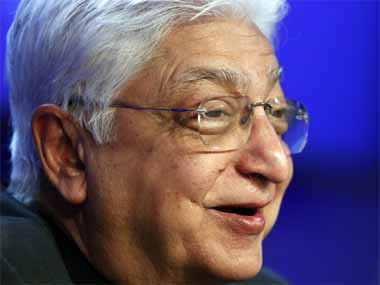 Rishad has new ways of thinking experience and competence will lead Wipro to greater heights says Azim Premji