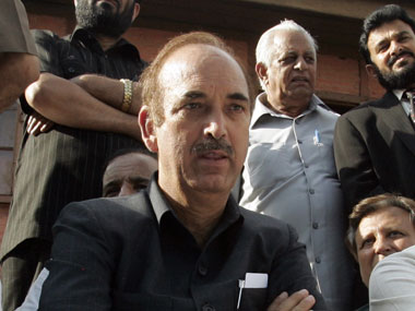 Homosexuality is unnatural says Ghulam Nabi Azad