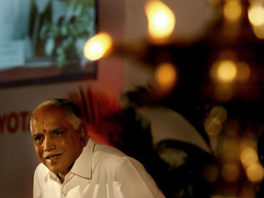 Will resign as CM on Sunday: Yeddyurappa | Firstpost