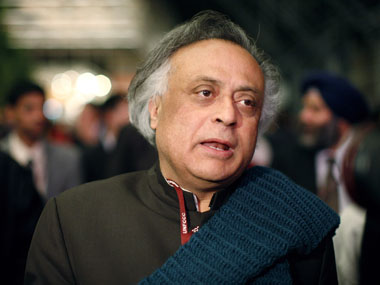 Jairam Ramesh outside a plenary meeting at the United Nations Climate Change Conference (COP15) at the Bella Center in Copenhagen in this file photo. Christian Charisius/Reuters.