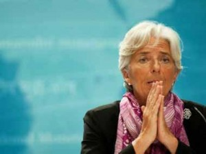 IMF boss Christine Lagarde warns US against trade barriers says global economy is in good shape