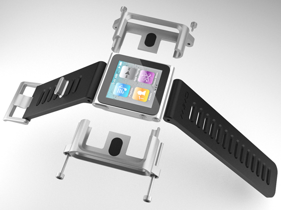 The LunaTik iPod Nano watch strap