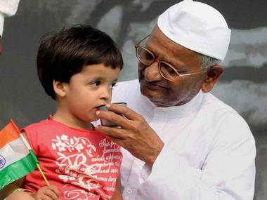 Hazare expands ambit of his crusade to fight for farmers