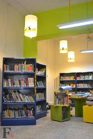 A Bandra library for the people by the people
