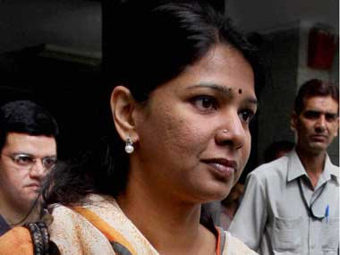 Relief but no Diwali for Kanimozhi