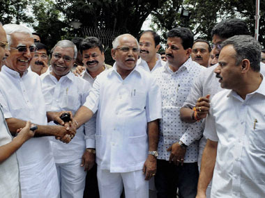 Yeddyurappa withdraws bail plea; will stay in jail | Firstpost