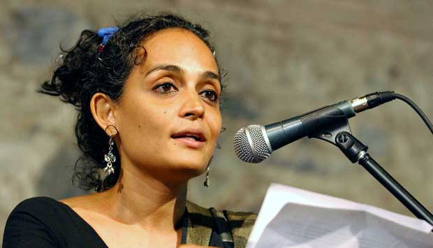 Happy 50th birthday, Arundhati Roy
