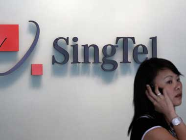 Singtel posts first ever quarterly loss on Bharti Airtel charge companys annual profit falls 44
