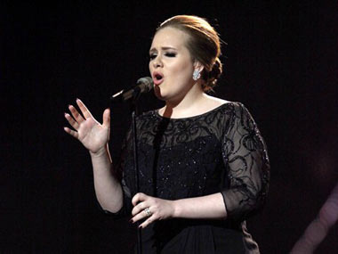 Adele in this file photo. AP