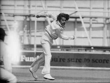 Bhagwat Chandrashekar helped India get their first win Australia. Getty Images