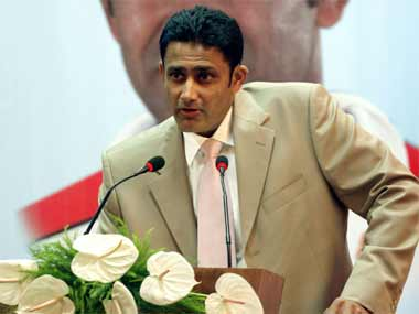 Anil Kumble only has himself to blame. Reuters