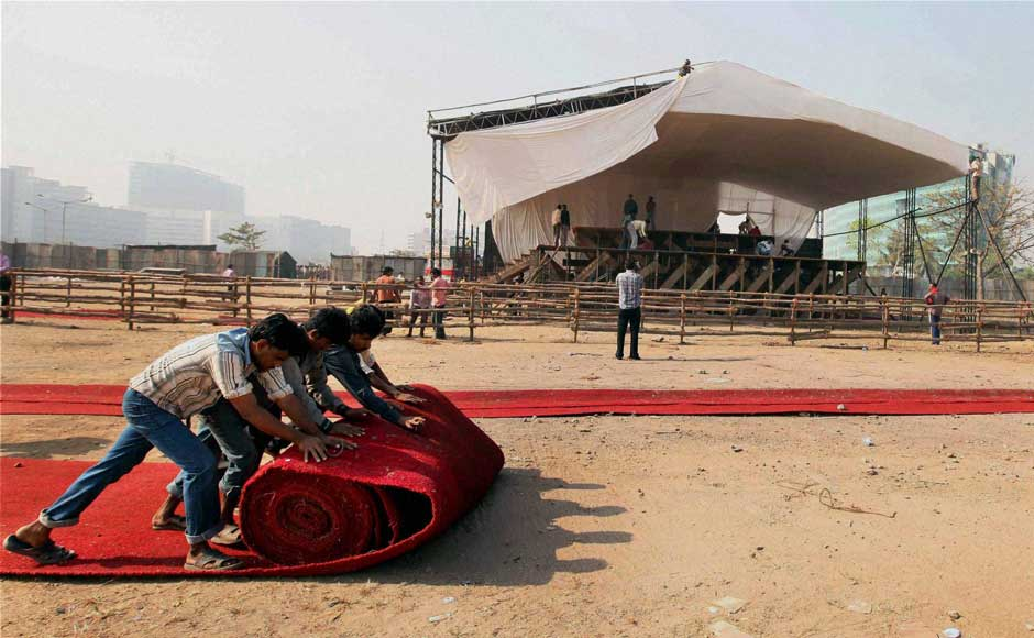 Images: Mumbai and Delhi prepare for Anna