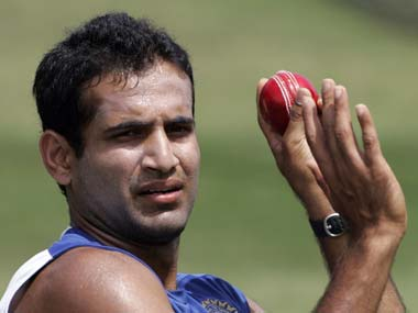 Pathan's got his swing back. Reuters
