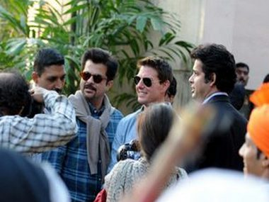 Tom Cruise jets into city; it's Mission Mumbai here on
