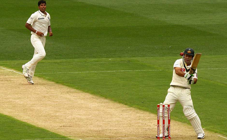 Images: Clunk, when Yadav hit Ponting on the helmet