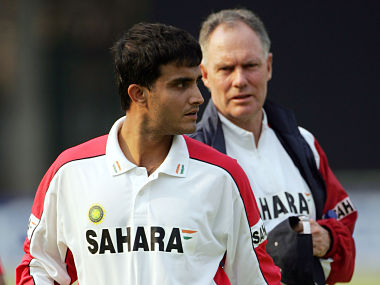 Greg Chappell is mad Ganguly
