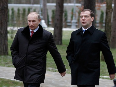 File photo of Dmitri Medvedev. Reuters