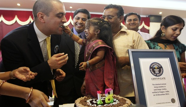 Jyoti Amge's big entry into Guinness records: world's shortest living woman