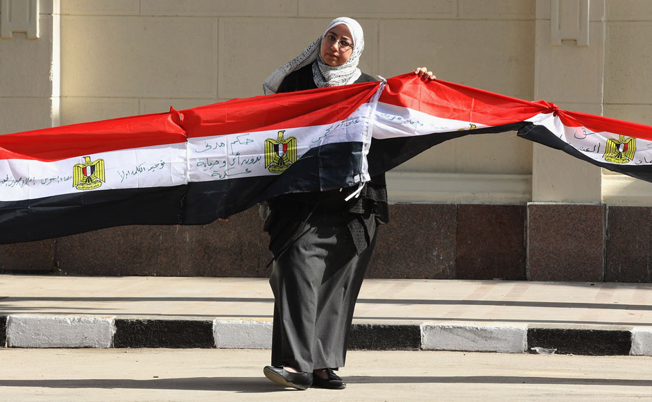One year later at Tahrir Square
