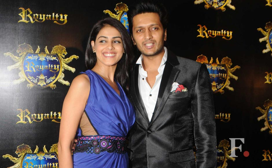 Images: Riteish and Genelia's pre-wedding bash