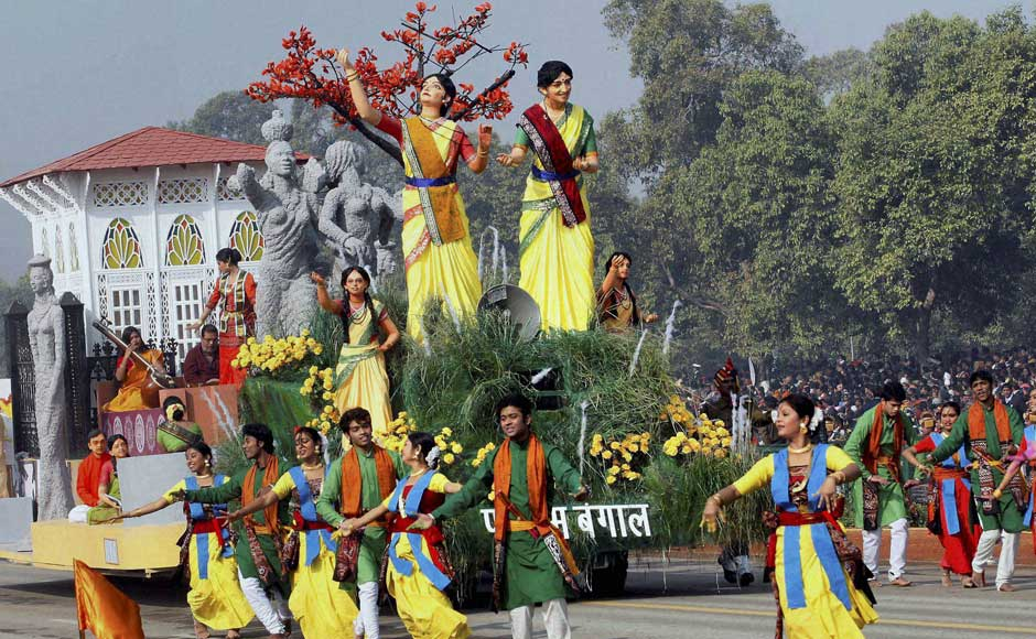 Images: Camels, soldiers and dancers prepare for Republic Day