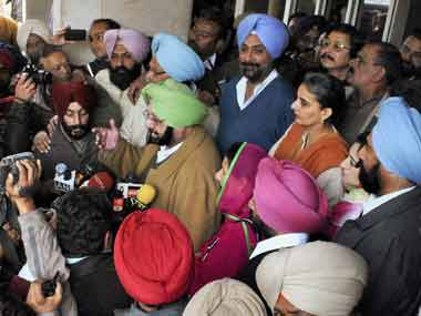 Amarinder files nomination papers from Patiala