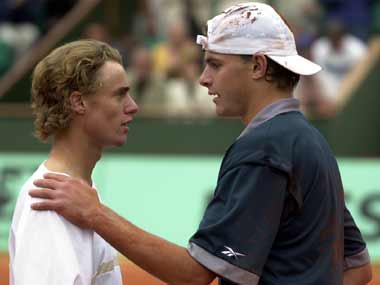 Hewitt and Roddick have been around for a long time. Getty Images