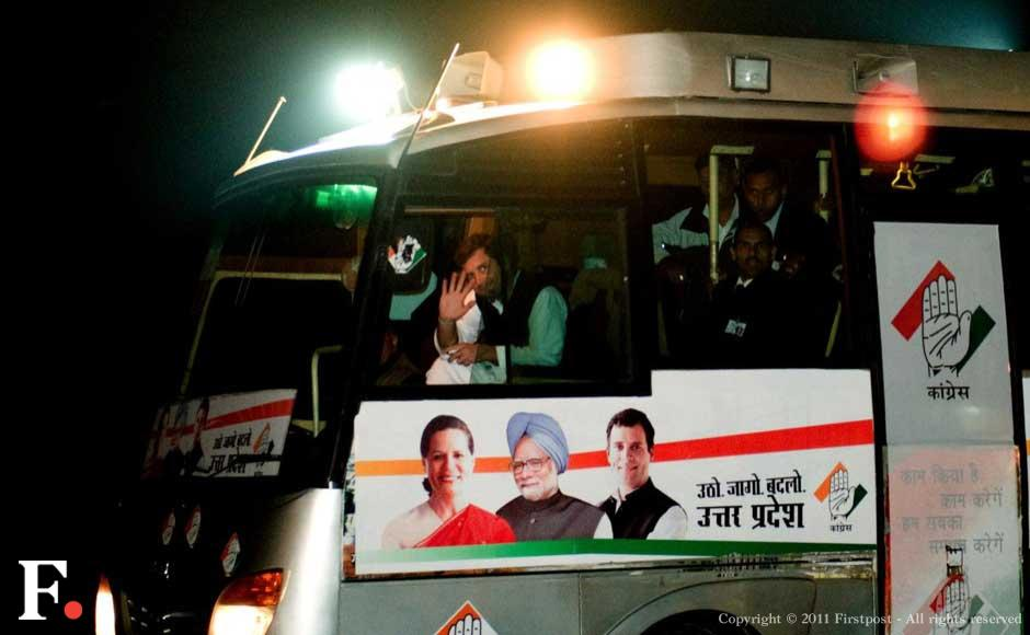 Images: On the road with Rahul Gandhi