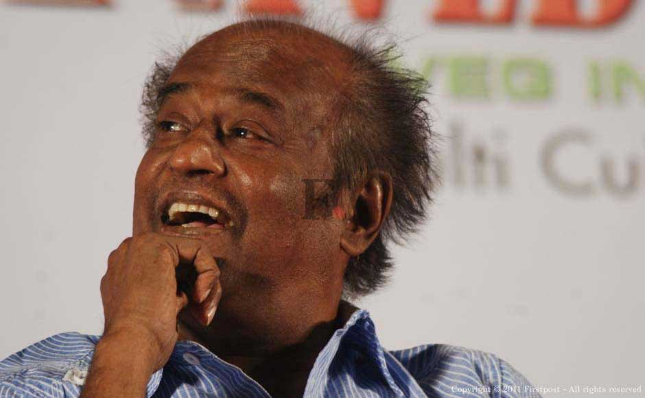 Images: When Rajnikanth is not superstar