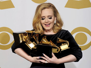 Adele breaks Whitney Houstons chart record